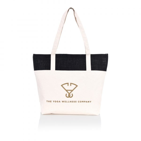 Canvas Yoga Tote Bag