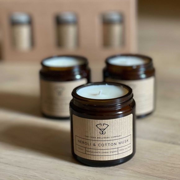 Yoga Wellness Luxury  Vegan Candle Gift Set at The Yoga Wellness Company